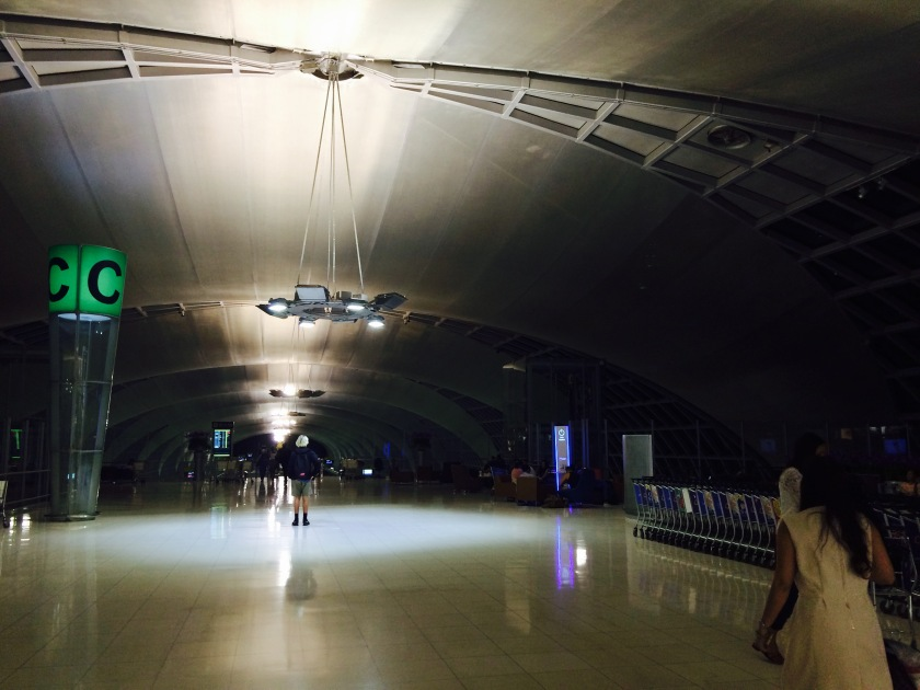 Bangkok airport midnight (c) 2015