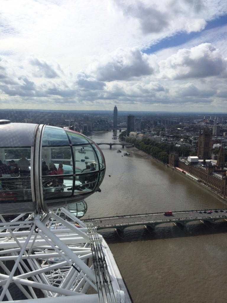 London Eye view from the top (c) 2015