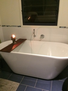 The seduction of a filling bath tub implies both self care and romance for the over 50 online dater