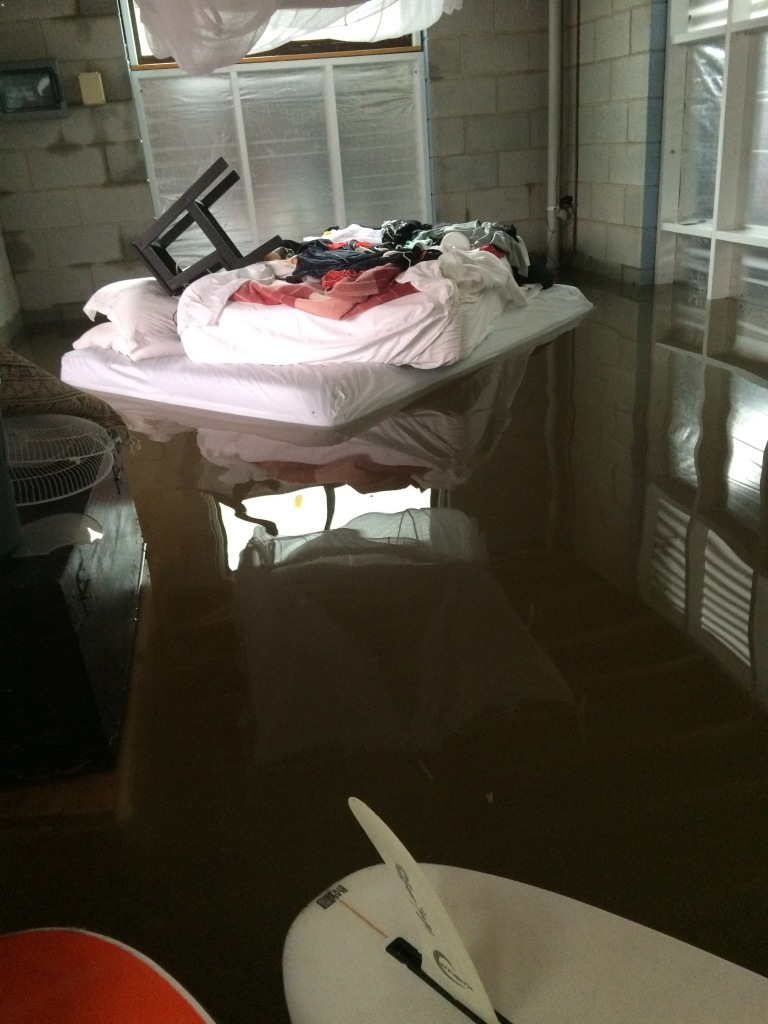 Floodwaters creating havoc in our home