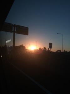bone&silver Brisbane sunset