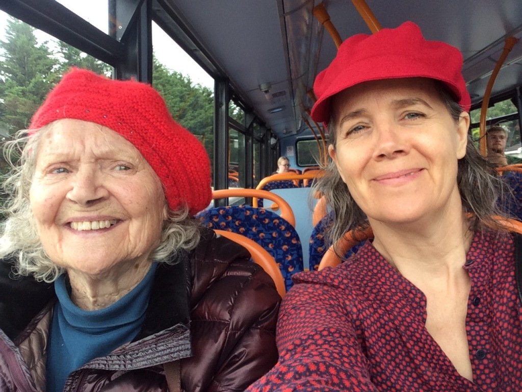 Wellbeing over 50 often involves caring for elderly parents