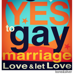 Marriage Equality poster to celebrate Australia said YES