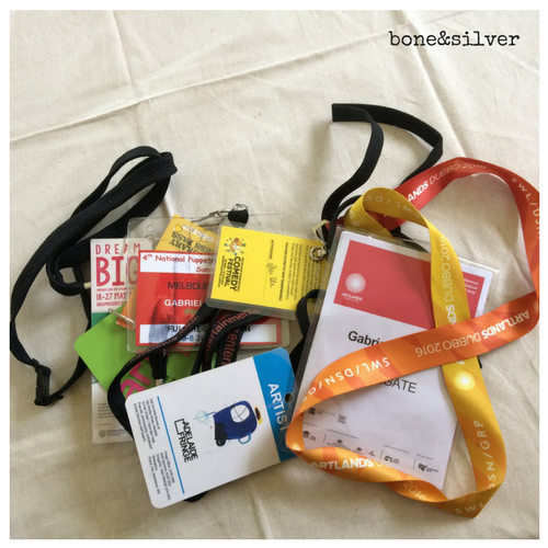 lanyards from festivals and music gigs in Australia