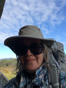Ready to walk across Tasmania