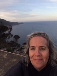 Sunset selfie from the helipad #threecapestrack #tasmania #over50 #bushwalking