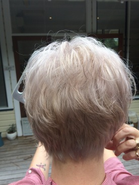 short haircut over 50 is a bold step for wellbeing