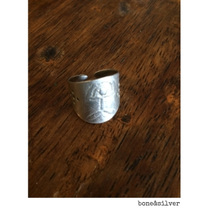 An old silver ring as an ideal birthday gift