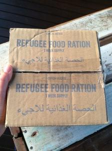 #ActforPeace #rationchallenge #refugeerations #sponsorme