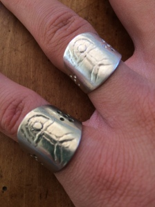 The spirit of Mum and Dad are alive in this antique ring