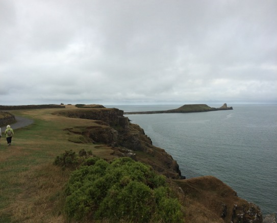 Walking in Wales is stunning #Wales #Worm'sHead #walking #wellbeing