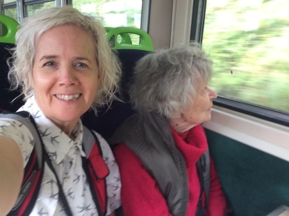 Train travel is fun #England #dementia #wellbeing #Mum