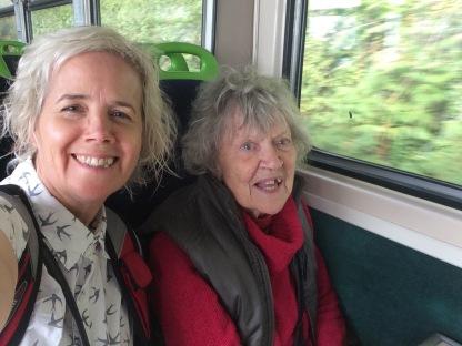 Train travel is fun #England #dementia #wellbeing #Mum