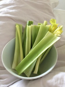 Celery is good for your endocrine and adrenal system