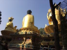 #Nepal #3Buddhas #sculptures #Kathmandu