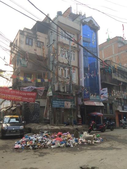 #Kathmandu #street #city #Nepal