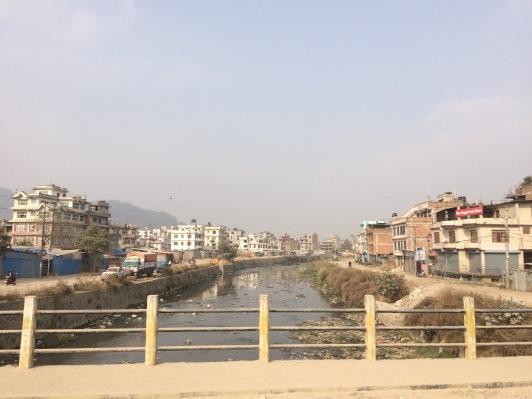 #Kathmandu #river #city #Nepal