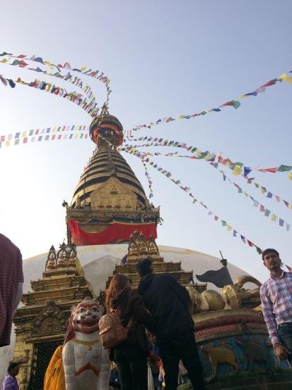 #Kathmandu #prayerflags #city #Nepal