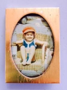 I didn't know I was as cute as that when I was 3